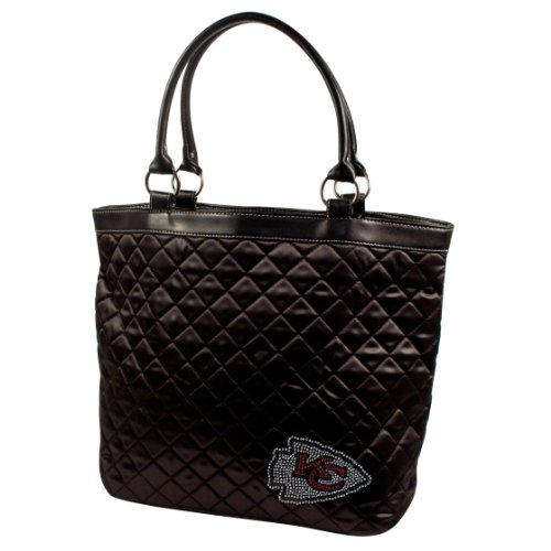 NFL-Sport-Noir-Quilted-Tote-Purse