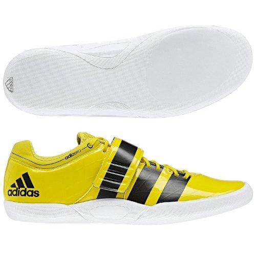 Adidas Performance Adizero Discus martello 2Athletics Campo Caso Scarpe, colore: giallo, Yellow, 14.5UK