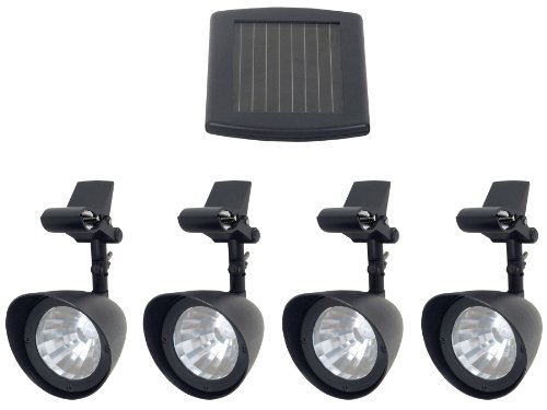 Fusion Products Ltd 16904 LED Solar Gazebo Light with 4 Pivoting Heads
