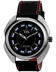 Watch Me Set Of Swiss Branded Black Brown White Red Multicolor Dial Leather Analogue Analog Watches For Men,Boys... - B01L01OYX6