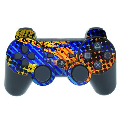 Mygift Reflux Design Ps3 Playstation 3 Controller Protector Skin Decal Sticker