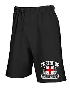T-Shirtshock - Jogginghose Shorts TSTEM0168 freiburg im breisgau
