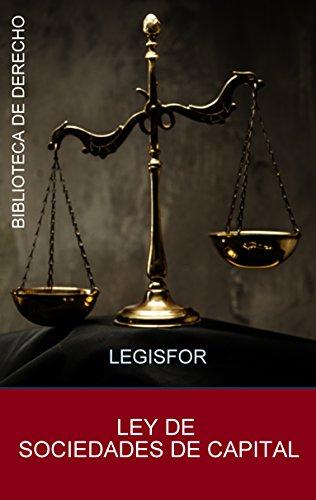 Ley de Sociedades de Capital: actualizada (edición 2016). Con índice sistemático