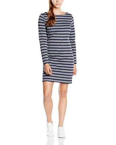 GANT Kleid Breton Stripe grau