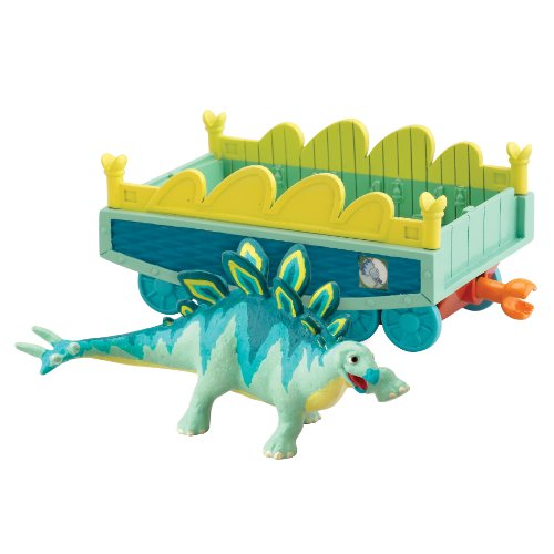 Dinosaur Train - Collectible Morris With Train Car