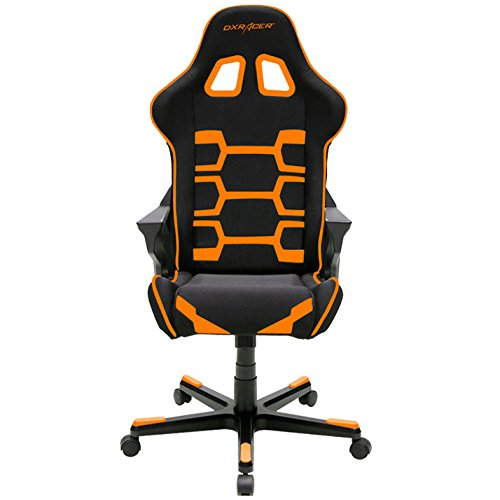 DXRacer-OHOC168NO-Origin-Series-Black-and-Orange-Gaming-Chair-Includes-2-free-cushions-and-Lifetime-warranty-on-frame