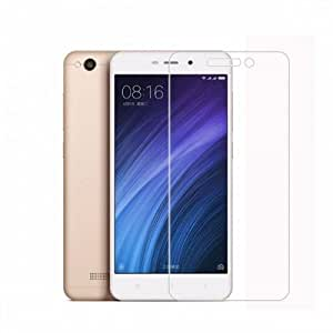BcDelhi Xiaomi Redmi 4A Tempered Glass Screen Guard Protector [ 9H Hardness ] [0.3 MM Thinkness ] [Oleophobic coating ] with Installation Kit