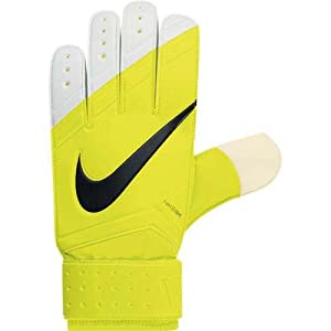 Nike Goal keeper(Gk) Classic Gloves (Black/Yellow, 9)