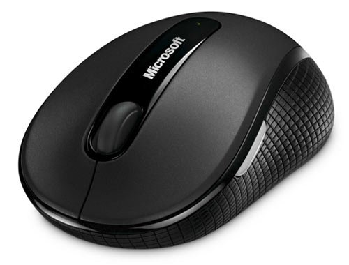Microsoft Wireless Mobile Mouse 4000 with BlueTrack Technology (Graphite)