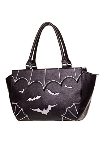 Banned Gothic Witch Gotham Knight Bats Attack Handbag