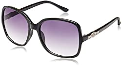 GIO Collection Oversized Sunglasses (Black) (P12318)