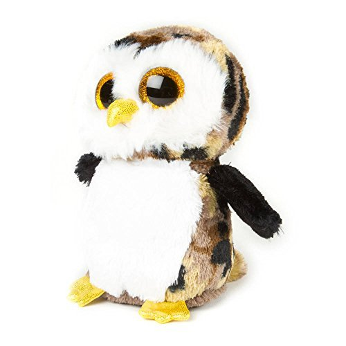 "Claire's Accessories Ty Beanie Boos Plush Owliver the Owl - 6"" Small - 1"
