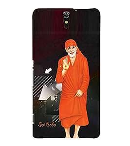 Fuson Sai Baba Case Cover for Sony Xperia C5 dual