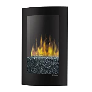 Dimplex Convex Electric Fireplace Wall Mount VCX1525 Black
