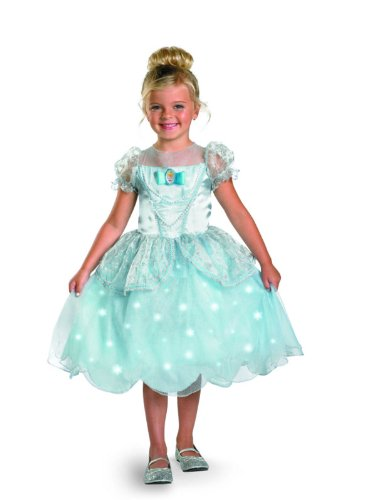 Disney Princess Cinderella Light Up Deluxe Costume