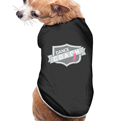 [Dance Coach Comfortable Pet Clothing Keep Comfortable Puppy Clothes Cute Dog] (Dance Costumes Ma)