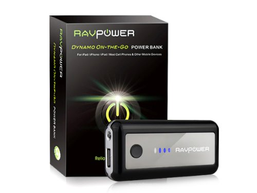 RAVPower® Dynamo-On-the-Go External Battery