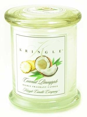 Kringle Candle Company Medium Apothecary Jar - Coconut Pineapple
