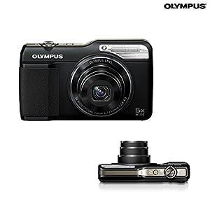 Olympus Stylus VG-190 Digital Camera - 5x Optical Zoom - 16mp - 720p HD Video - Black