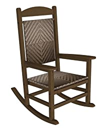 Tortuga Tuscan Lorne Wicker Rocking Chair  The Furniture Cottage