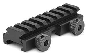 AR15 M4 FLAT TOP COMPACT 1/2 INCH RISER MOUNT PICATINNY RAIL