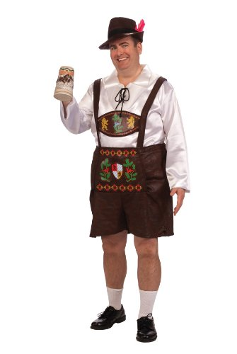 Rubie's Costume Adult Full Cut Bavarian Guy Costume
