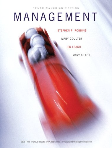 Management, Tenth Canadian Edition Plus MyManagementLab with Pearson eText -- Access Card Package (10th Edition)