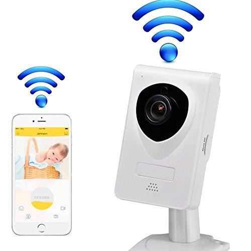 UBest-Cam Mini-IR-Nacht IP-Kamera, 1280x720p Heimüberwachungskamera drahtlose IP-Kamera WiFi Überwachungskamera , Baby-Videomonitor Nanny Cam Unterstützung 64G SD-Karte, Zwei-Wege-Audio WiFi IP-Kamera