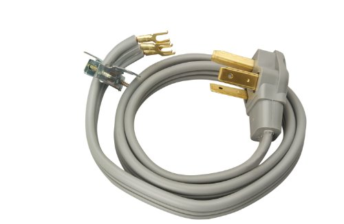 Coleman Cable 09126 6-Foot 30-Amp 3-Wire Dryer Power Cord (Electrical Oven Parts compare prices)