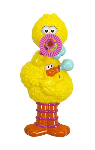 Little Kids Sesame Street Dip and Blow Bubbles Big Bird Toy