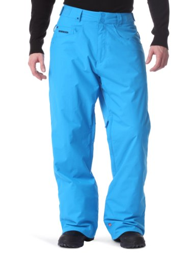 Quiksilver Drizzle Insulated Relaxed Men's Trousers Azul Blue X-Large