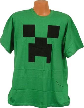 Minecraft Creeper T-Shirt (X Large)