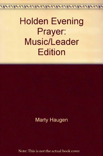 Holden Evening Prayer: Music Leader Edition