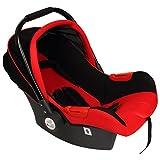 Car Seat Cum Carry Cot - Red