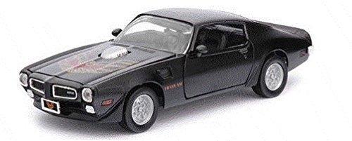 1973-pontiac-firebird-trans-am-black-1-24-by-motormax-73243-by-motormax