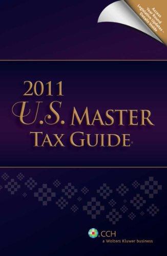 U.S. Master Tax Guide (2011)