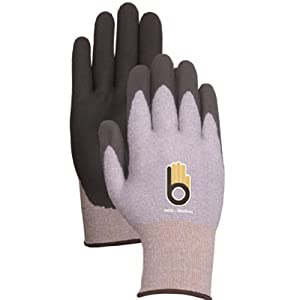 Atlas Glove C4400XL Extra Large Gray Thermal Knit Gloves with Rubber Palm