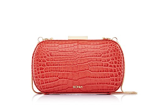 bonia-womens-red-exotic-on-starsome-clutch