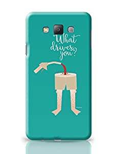 PosterGuy What Drives You? Motivational Samsung Galaxy A7 Covers
