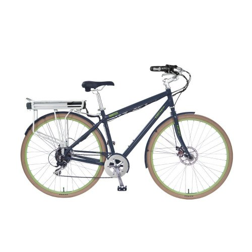 IZIP E3 Path - 24 Volt Lithium Ion Powered Electric Bicycle - Grey (Currie Tech)