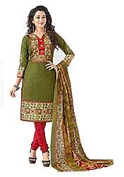 Balaji Fashion Women's fancy print cottan suit-D.NO 1016