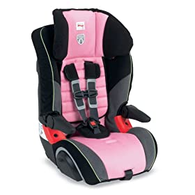 Baby's Store |   Britax Frontier Booster Car Seat, Pink Sky