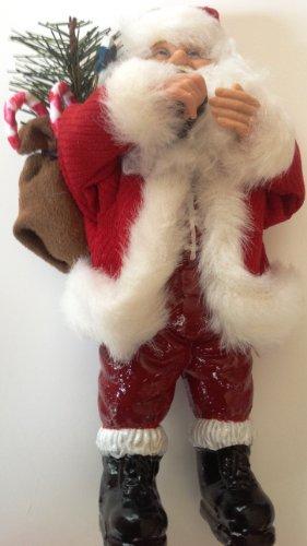 8″ tall Bring Tree Santa Doll or Ornament by Santa's Workshop Christmas Ornament
