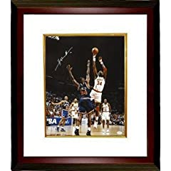 Hakeem Olajuwon Autographed Hand Signed Houston Rockets 16X20 Photo Custom Framed-... by Hall of Fame Memorabilia