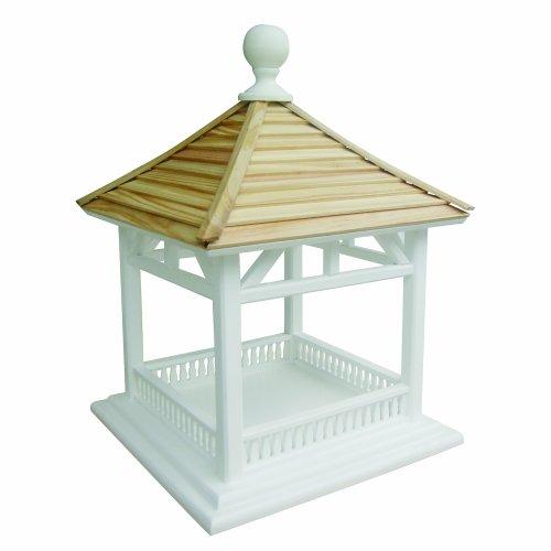 Home Bazaar Dream Birdhouse Feeder, Pine Shingle Roof