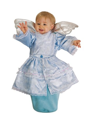 Deluxe Angel Baby Bunting Costume - Infant