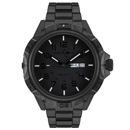 Armourlite-Professional-Series-AL1404-Blackout-Steel-Tritium-Watch