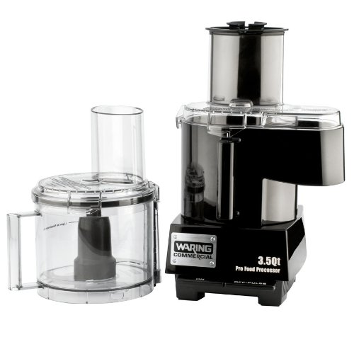 Today Sale Waring WFP14SC 3.5 Qt. Combination Continuous Feed / Batch Bowl Food Processor - 120V  Review