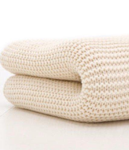 Belledorm 100% Cotton Cellular Blanket Double Cream