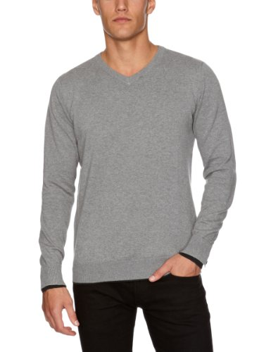 GUIDE LONDON KW.2429 Men's Jumper Grey Large